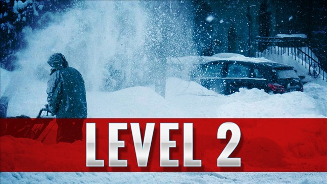 Belmont County issues level two snow emergency