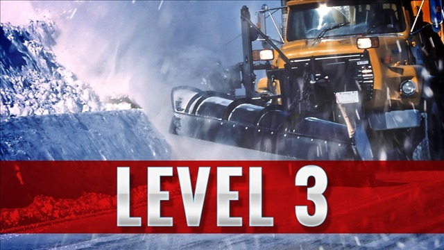 Jefferson County officials issue level 3 snow emergency