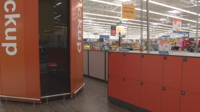 New Walmart technology allows you to pickup an order in less than a minute