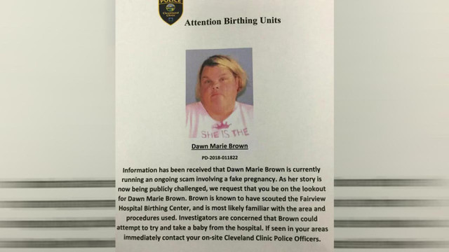 Ohio hospital issues alert about woman who may try to take baby