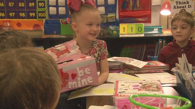 Valentine's Day not just candy and decorations for local students