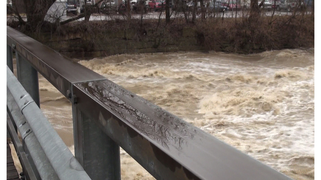 Flood Warning in effect for Ohio River starting Monday afternoon