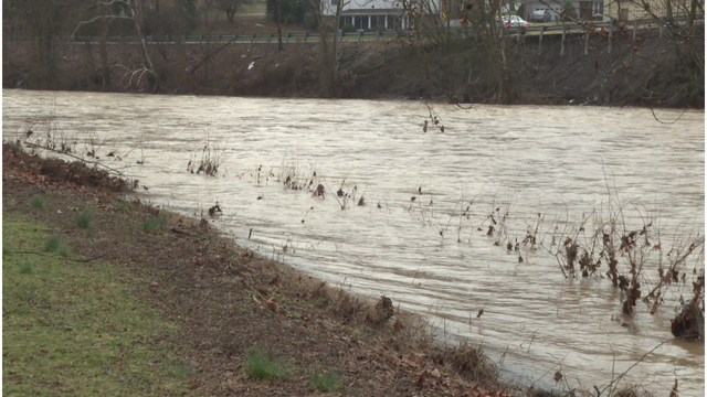 Officials prepared for river flooding