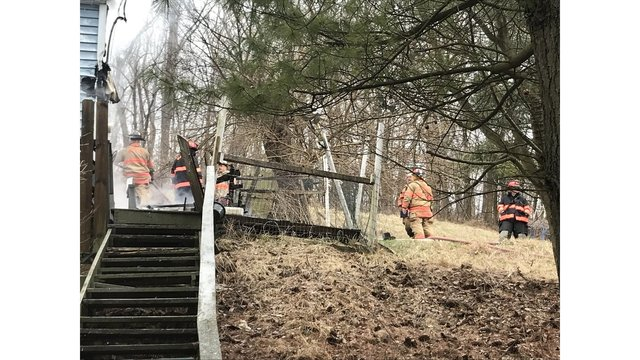 House a 'total loss' after fire in Warwood
