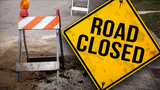 Rt. 147 between Key and Bellaire closed for a slide repair