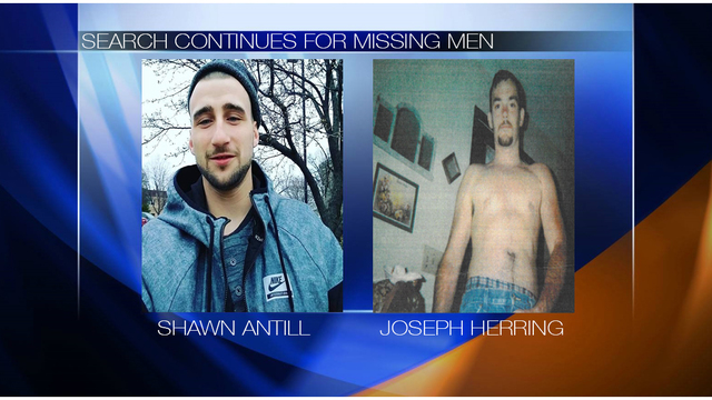 Search continues for two local missing men