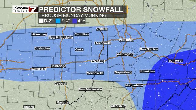 Weather Authority: More spring snow possible Saturday, Monday