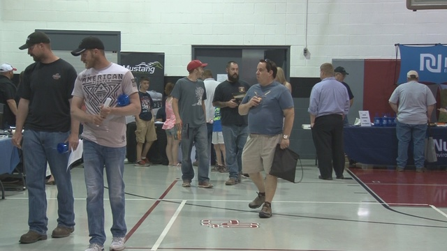 Dozens seek jobs in the fastest growing industry in the Valley