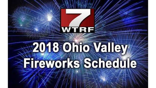 Ohio Valley Fourth of July Fireworks Schedule