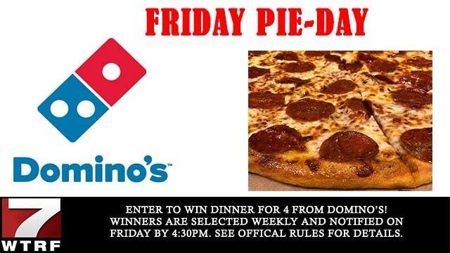 Domino's Friday Pie-Day Giveaway