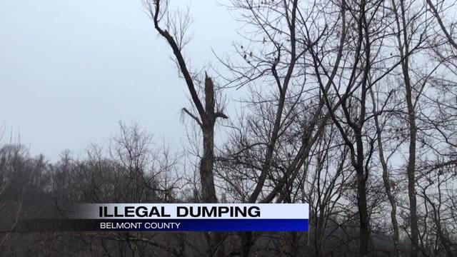 Illegal Belmont County Dump Site