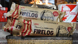 KFC now sells a firelog that will unleash the aroma of fried chicken