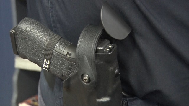 Bill allows first responders to carry guns on duty, requires training course